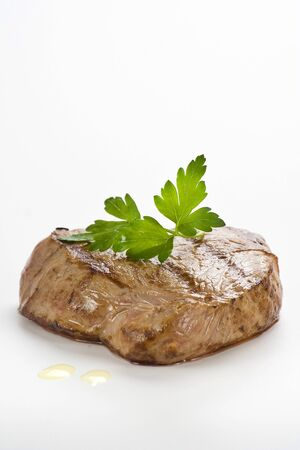 sirloin steak: delicious beef grilled whith rice and vegetables Stock Photo