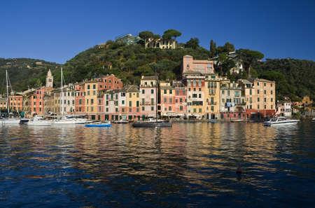 Portofino, famous small town near Genoa, Italy