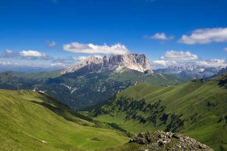 fassa: Summer portraits of italian Dolomiti in Val di Fassa