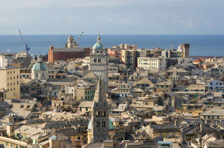 historica: The characteristic old houses in Genoa
