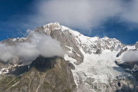 courmayeur: Mont Blanc de Valle Veny, Courmayeur, Italia.