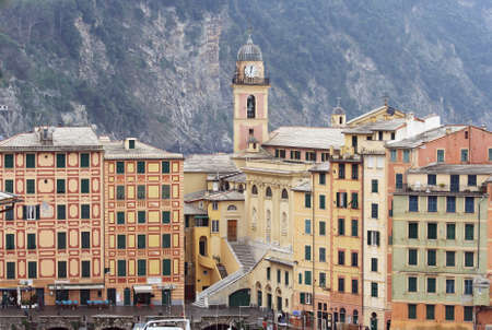 view of Camogli, famous small town in Liguria, Italy Stock Photo - 10369757