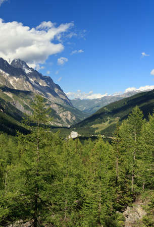 Veny valley, Courmayeur, Aosta Valley, Italy photo