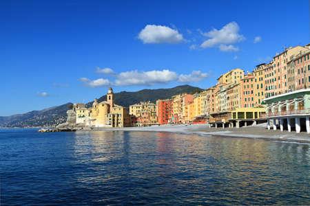 italian village: Camogli, famous small town in Liguria, Italy