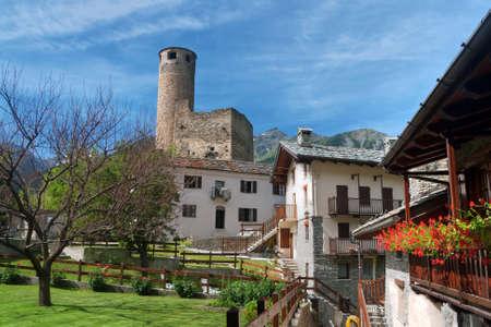 aosta: Chatelard village, Aosta Valley, Italy