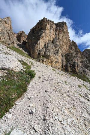 sud tirol: summer view of Gran Cir mount, Italy