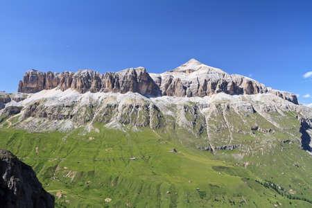 sella: Dolomites - Sella mountain