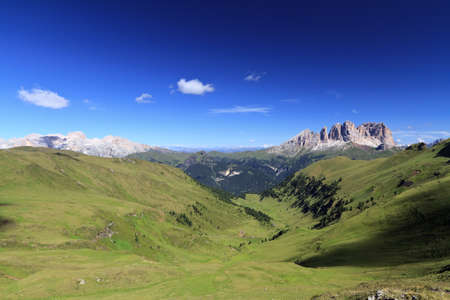 fassa: Dolomiti - Fassa Valley with Catinaccio and Sassolungo groups