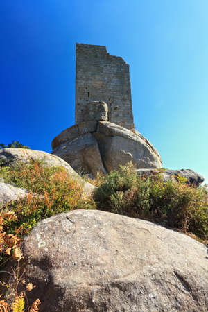 sighting: the ancient San Giovanni sighting tower in Elba island, Tuscany  Italy