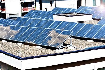 sun roof: solar panels
