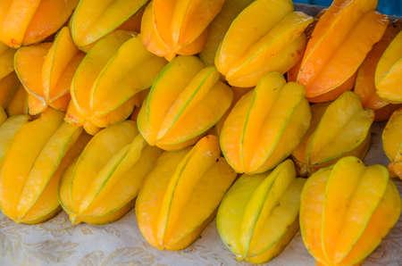 geel sterappelfruit.