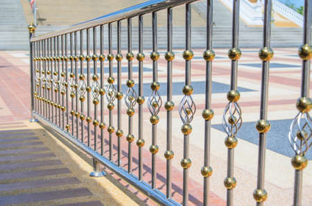 fence made of stainless steel