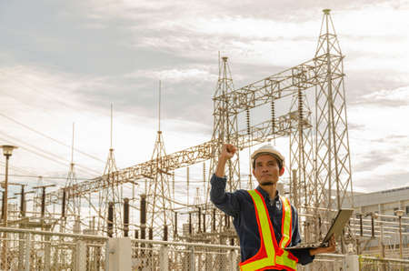 success of electrical engineers working at substations