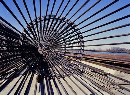 Rebar- wapeningsstaaf voor Beton Pillar costruction