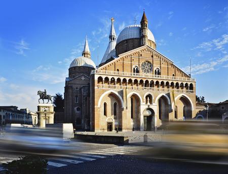 Basiliek van Sint Anthony van Padua, Italië Stockfoto