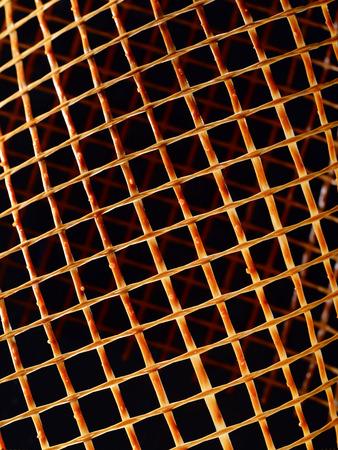 fibra de vidrio: Red para el uso industrial en fibra de vidrio cubierta de resina