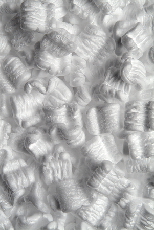 polystyrene: White Polystyrene Packing Chips like the snow