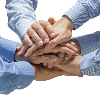 intent: Group of people united with the intent to Achieve success