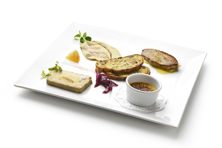 variants: Dish of Variants of foie gras
