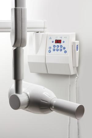 Geïsoleerde Instrument Intraorale RX Imaging op wit
