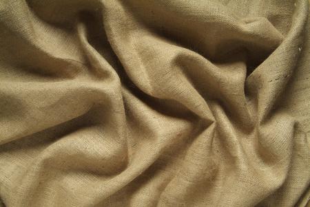 sacco juta: Sfondo di Drapery con tela sacco di juta