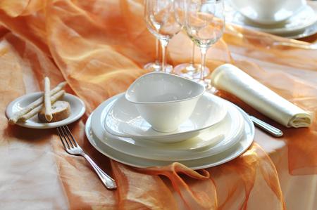 gressins: Elegant Table set for feast