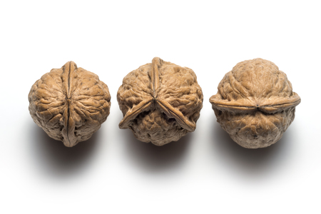 Anomaly of nature on a different walnut