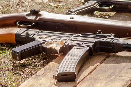 a war historian: Machine gun and military reconstruction of World War II