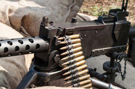 barrel bomb: Machine gun ammunition and parts World War II