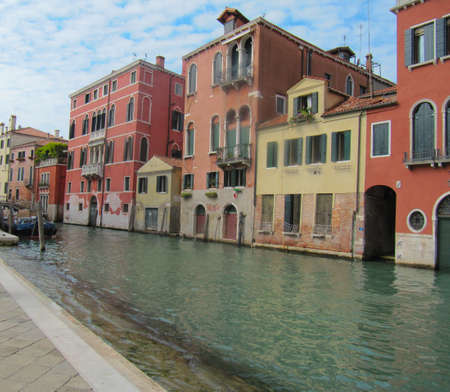 Tripping by the Venetian channels in autumn