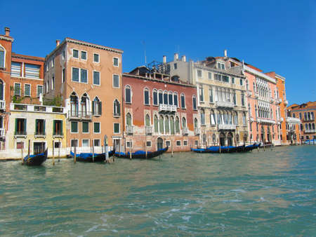 Tripping by the Venetian channels in autumn.
