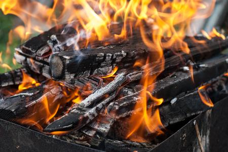 Fire close-up
