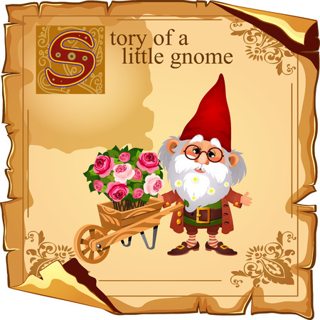 grower: Wizard gnome grower with flower bouquets