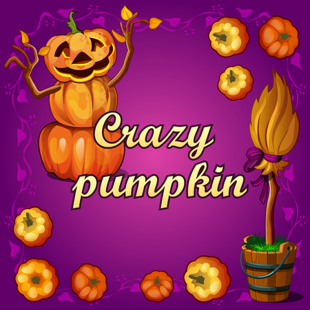 witchcraft: Crazy pumpkin and other witchcraft on Halloween