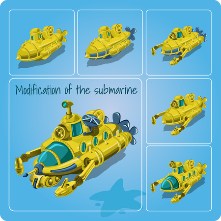 modification: Modification of the submarines for you design needs.