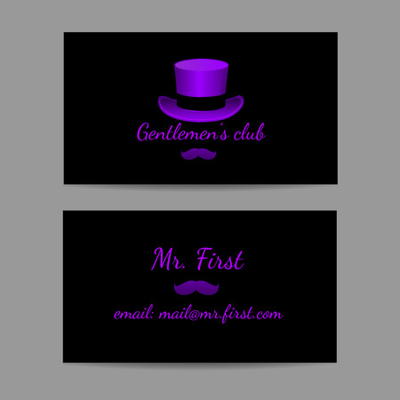 politeness: A business card is great men