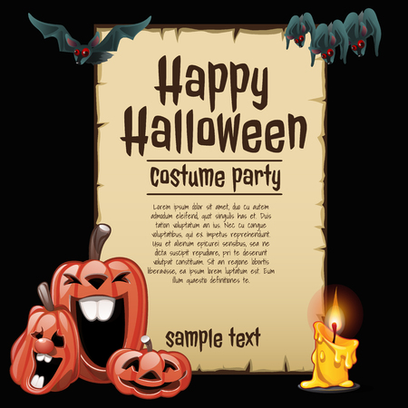 Laughing Pumpkin, Party Costumes, Happy Halloween, Sample Text ...