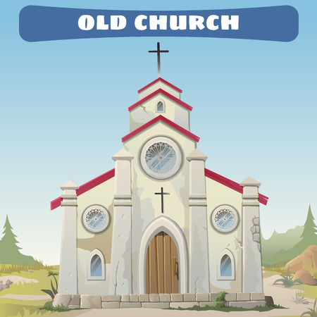 old church: The old Church closeup in the Wild West