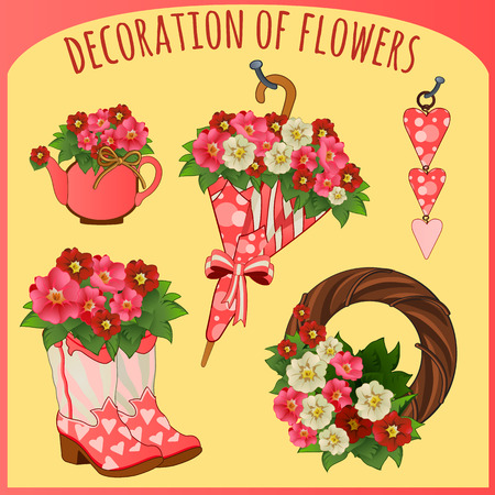 hairband: Accessories and decorative objects with flowers