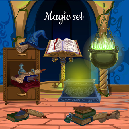 enchantment: Mess in the room for magic