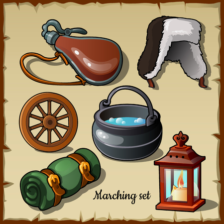 become: Set for those who wants to become a traveler, marching items