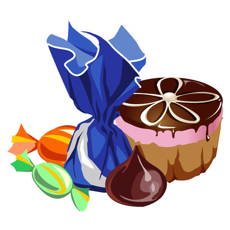 278 Cake Batter Stock Vector Illustration And Royalty Free Cake ...