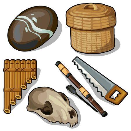Elementos y objetos de las edades antiguas
