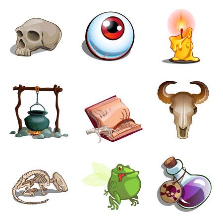 Symbole von Halloween