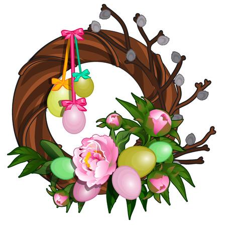 Christmas decoration objects illustration. Illustration