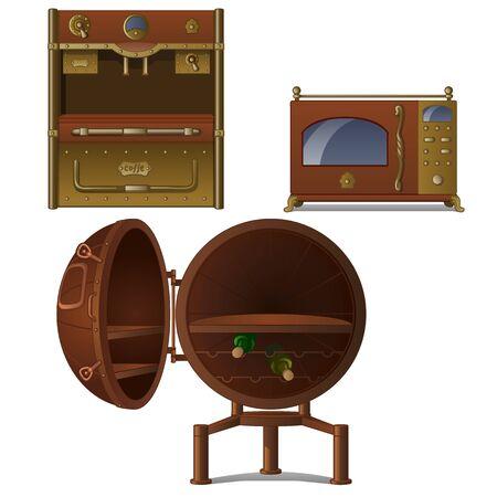 Set of kitchen appliances.
