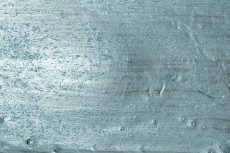 fantastic grunge light blue scratched metalline plaster texture - abstract photo background