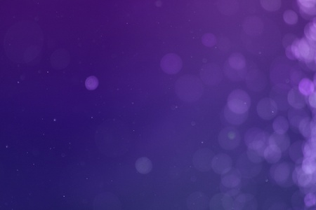 Nice purple brilliant sparkles one side frame bokeh texture - abstract photo background