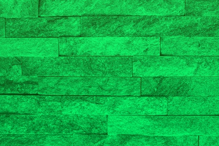 design old teal, sea-green natural quartzite stone bricks texture for any purposes.