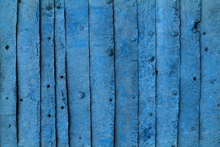 cute blue grunge retro iron plates armor texture - abstract photo background Banco de Imagens